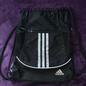 Adidas black draw string